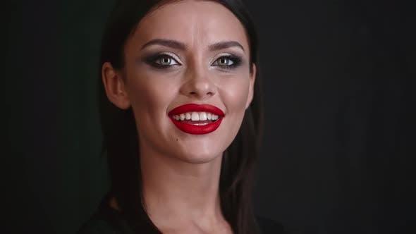 Thumbnail for Closeup Model Presenting Makeup