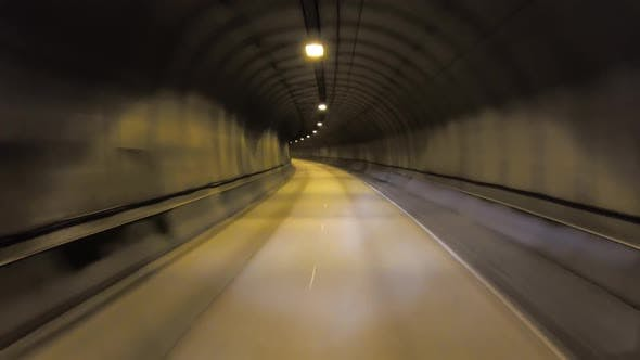 Thumbnail for Car Rides Through the Tunnel Point-of-view Driving