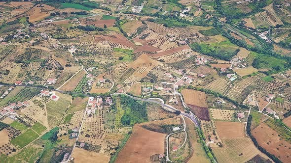 Cover Image for Village And Farms Aerial View