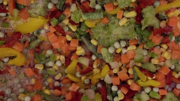 Thumbnail for Mexican Mixture of Vegetables in a Shop