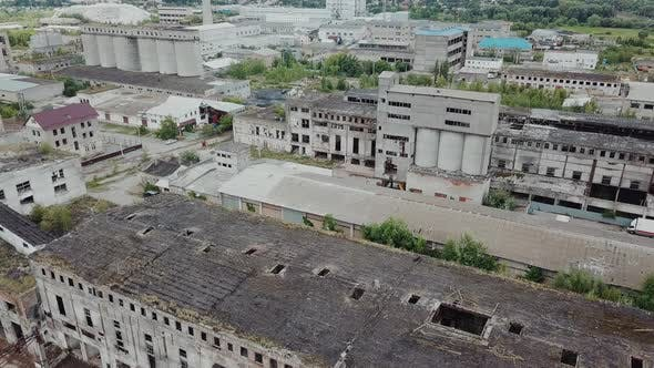 Thumbnail for Flight Over the Destroyed Factory