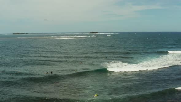 Thumbnail for Surf Spot on the Island of Siargao Called Cloud 9
