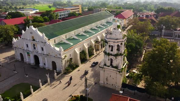 Vigan Cathedral. This Structure Depicts the Remnants Left By the Spaniards During Thier Reign in the
