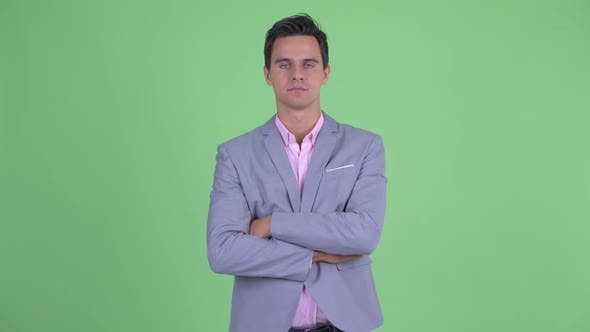 Thumbnail for Young Handsome Businessman with Arms Crossed