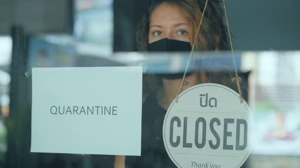 Thumbnail for Woman Closes Her Cafe for Quarantine