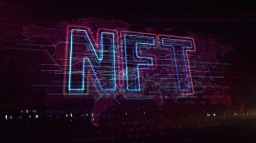 NFT crypto art symbol abstract loopable