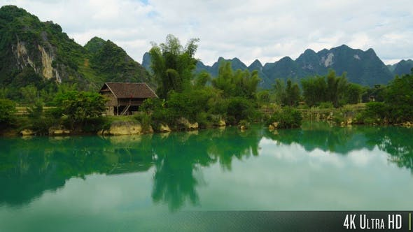 Thumbnail for 4K Rural Northern Vietnam Landscape