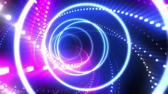Thumbnail for Neon Light VJ Loop 4K 03