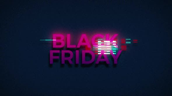 Thumbnail for Retro Glitch Black Friday Sale