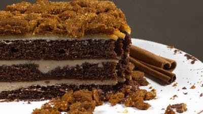 Biscuit Cake With Cinnamon 2