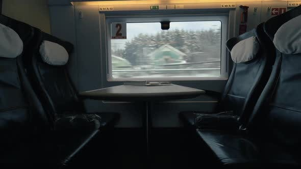 Thumbnail for Empty Seats in Moving Express Train