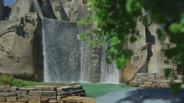 Thumbnail for The waterfall at Canada's Wonderland