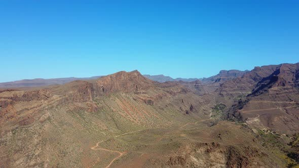 Thumbnail for Breathtaking Panoramic View of the Gran Canaria Valley in Spain