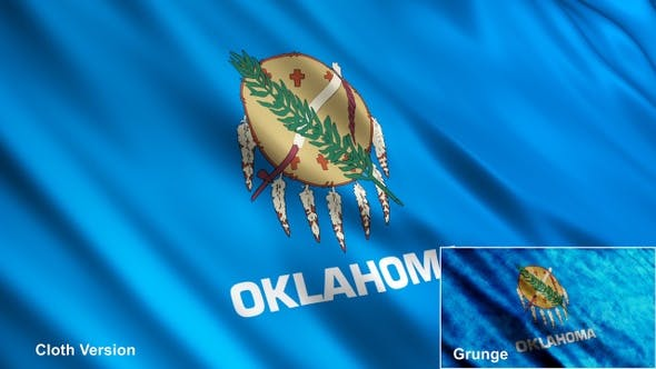 Thumbnail for Oklahoma State Flaggen