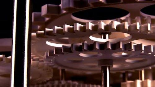 Abstract Retro Clock Gears 28
