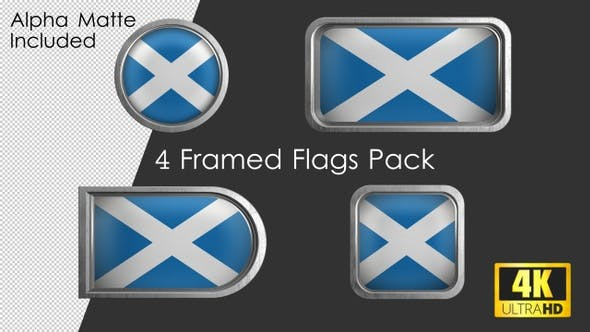 Thumbnail for Framed Scotland Flag Pack