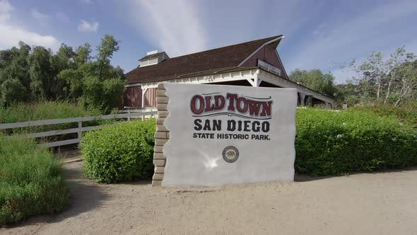 Thumbnail for Old Town San Diego State Historic Park sign
