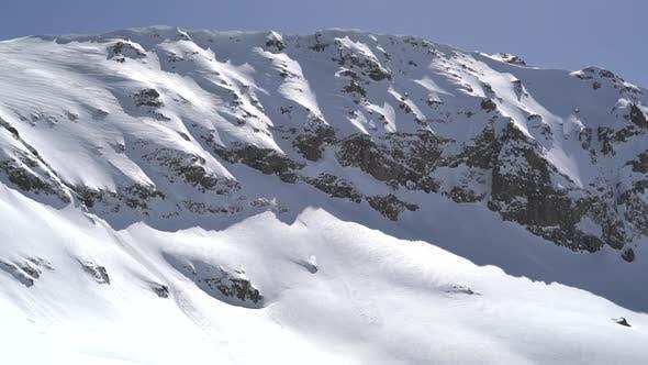 Thumbnail for Snow Eaves on Snowy Mountain Ridge