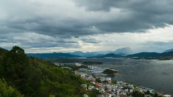 Thumbnail for Aalesund Panoramic View