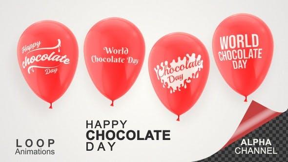Happy Chocolate Day Celebration