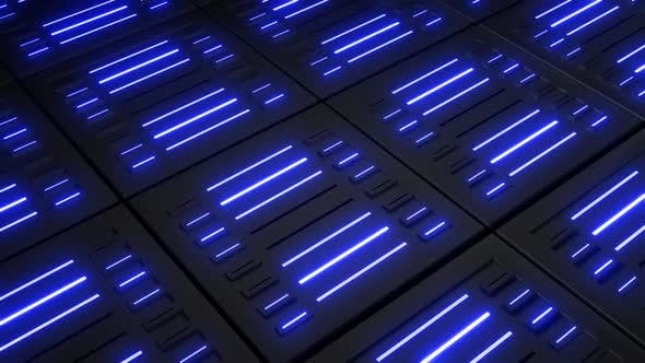 4k Colored Neon Lights Boxes Pack