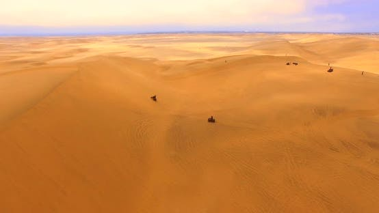 Thumbnail for Dramatic Landscape with Terracotta Dunes