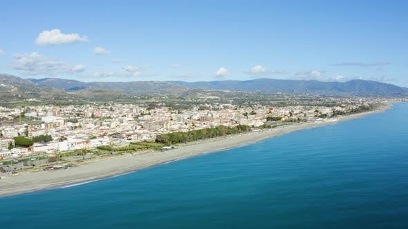 City of Calabria in Winter Season