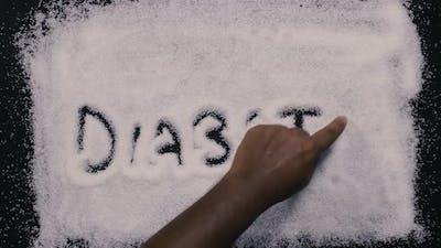 Hand Writes Diabetes