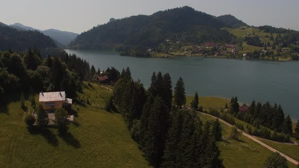 Aerial view of Colibita