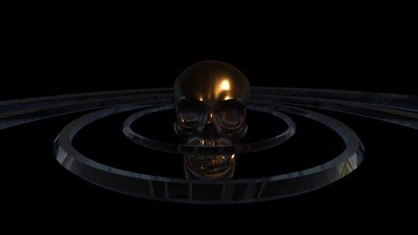 Skull Vj Loop