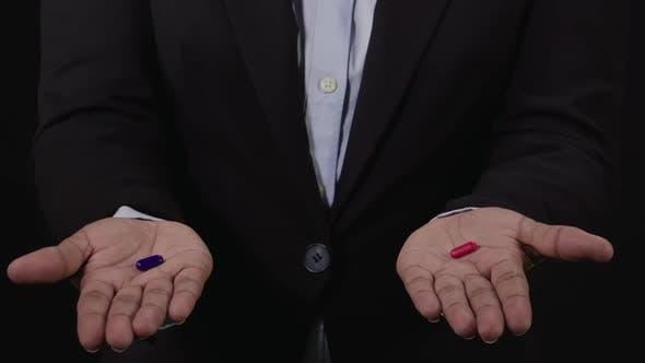 Red Pill Blue Pill Choice