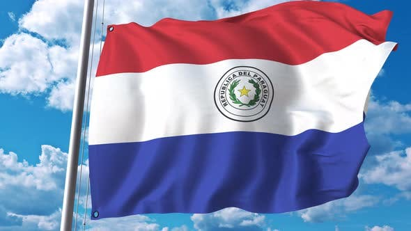 Thumbnail for National Flag of Paraguay