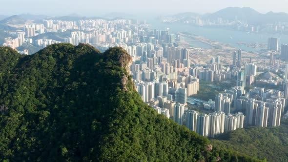 Thumbnail for Hong Kong lion rock mountain