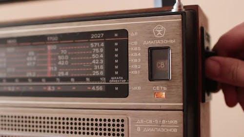 Radio Receiver Radio Frequency Setting Indicator