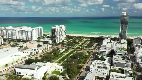 Nice Miami summer scene