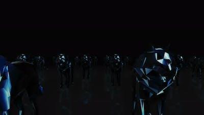 Wolf Neon 4k