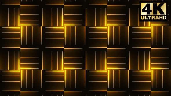 Geometric Neon Vj Loop Pack