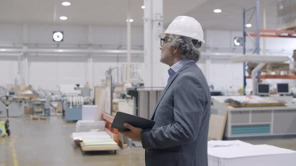 Thumbnail for Safety Inspector Checking Factory