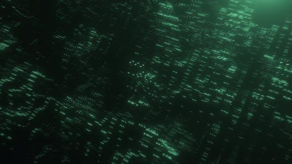 Futuristic Data Code