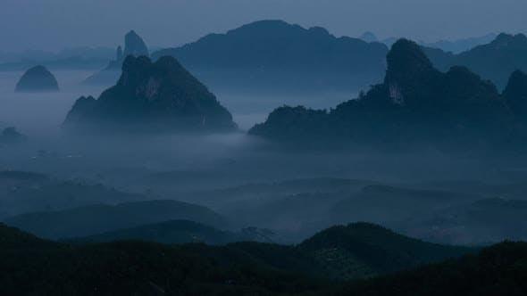 Fog and Morning Light