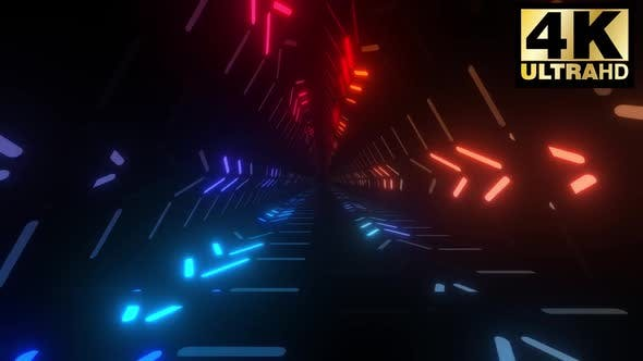 Thumbnail for 3 Colorful Triangular Neon Tunnel Pack