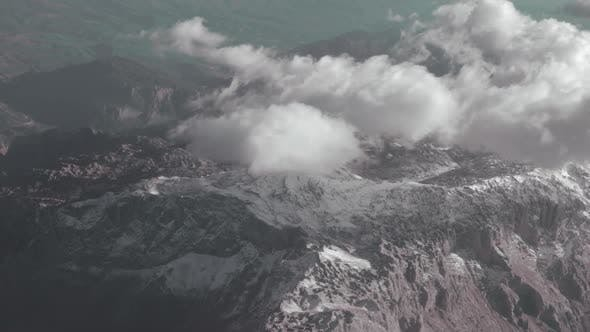 Thumbnail for Aerial View of Mountains. Looking From the Flying Plane