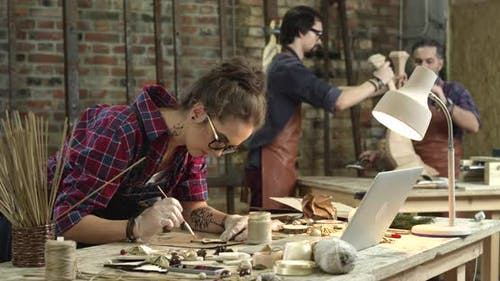 Busy Hipster Workshop