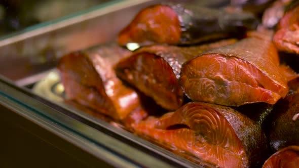 Thumbnail for Geräucherter Fisch auf Tablett