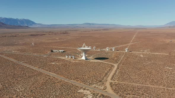 Thumbnail for Drone Science and Innovative Technologies - Large Radio Telescope Looks Space