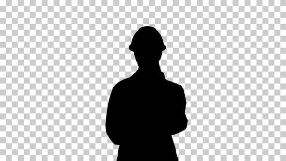 Silhouette Scientist , Alpha Channel