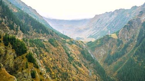 Mountains 4K video timelapse.