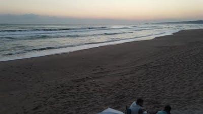 Camping Sea Sunrise