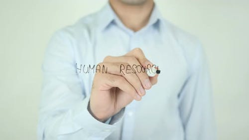 Human Resources, Writing On Screen