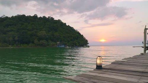 Sunset on Peer